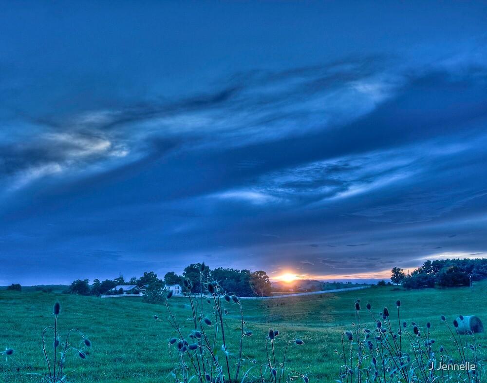 Shenandoah Sunset by J Jennelle