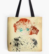 Paint Splatter Superheros: Black Widow Tote Bag