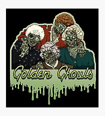 Golden Ghouls Photographic Print