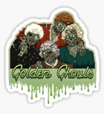 Golden Ghouls Sticker