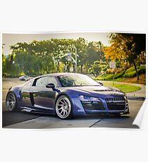 Prior Design Audi R8 Poster