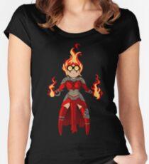 Princess Pyromancer Women's Fitted Scoop T-Shirt