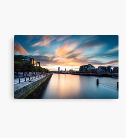 Liffey River Canvas Print