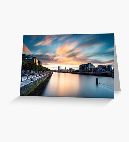 Liffey River Greeting Card