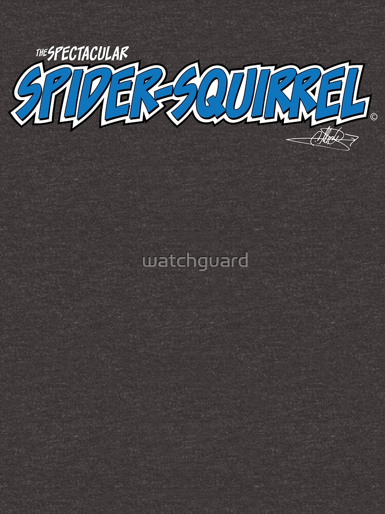 The Spectacular Spider-Squirrel (Alt) by watchguard