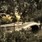 Bow Bridge at Dusk by Jessica Jenney
