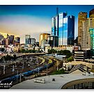 Melbourne Skyline #2 by James Millward