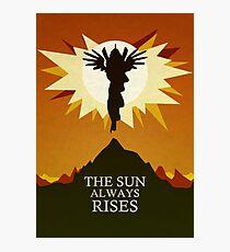 The Sun Always Rises - Princess Celestia Print Photographic Print