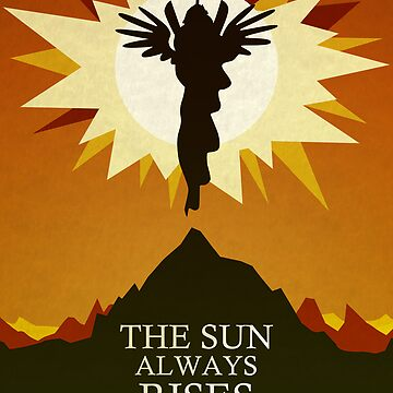 The Sun Always Rises - Princess Celestia Print von CainVoorhees