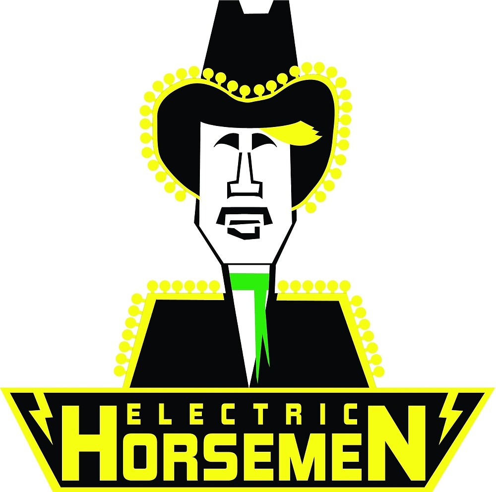 Electric Horsemen (Vintage 4) by wesg1261