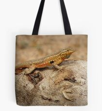 Common Side-blotched Lizard (Male) Tote Bag