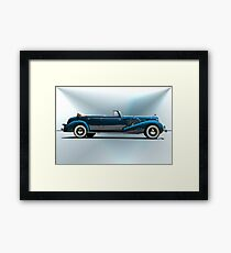 1934 Cadillac Convertible Sedan I Framed Print