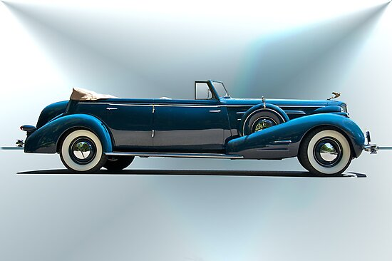 1934 Cadillac Convertible Sedan I by DaveKoontz