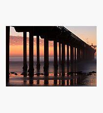 Scripps Pier Photographic Print