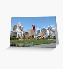 Arrow in the City Greeting Card