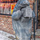 Manatee On A Mailbox Mission by Jane Neill-Hancock