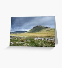 Ingleborough, Yorkshire Dales National Park Greeting Card
