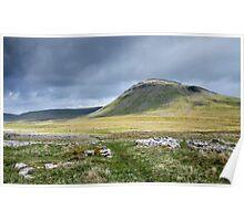 Ingleborough, Yorkshire Dales National Park Poster