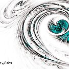 Bliss Abstract 5 by Tarnee