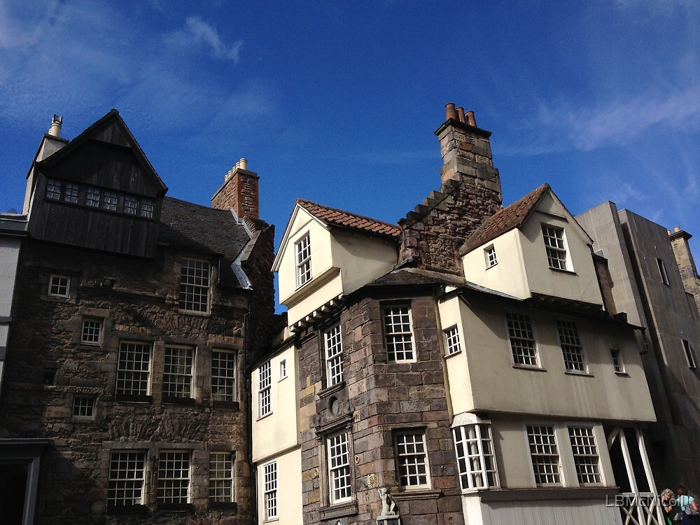 """John Knox House. Edinburgh"" By LBMcNicoll"