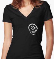 5SOS LOGO Women's Fitted V-Neck T-Shirt