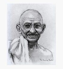 Mohandas Karamchand Gandhi Photographic Print