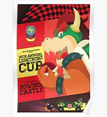Bowser Mario Kart Poster