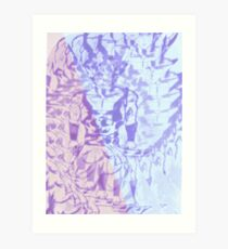 Gogeta under glass Art Print