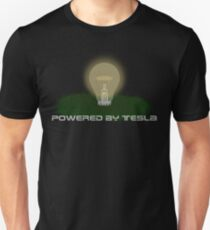 Powered by Tesla - Bulb T-Shirt