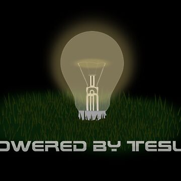 Powered by Tesla - Bulb by veyda92