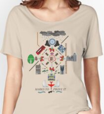 The Maccabees - Elephant and Castle Women's Relaxed Fit T-Shirt