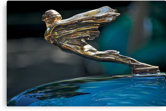 1934 Cadillac 'Goddess' Hood Ornament by DaveKoontz
