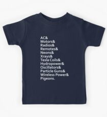Tesla's Legacy Kids Clothes