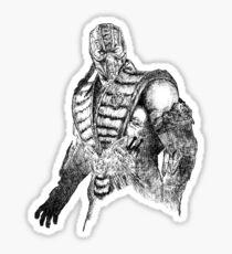 Sub-Zero MKX Art Sticker