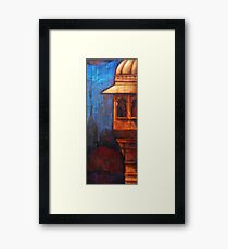 Heat Framed Print