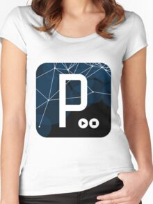 Processing Women's Fitted Scoop T-Shirt