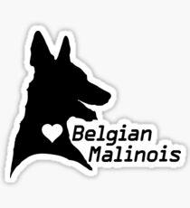 Malinois <3 Sticker