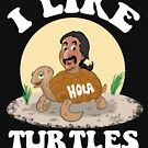 Turtle Ride: I LIKE TURTLES by clockworkmonkey