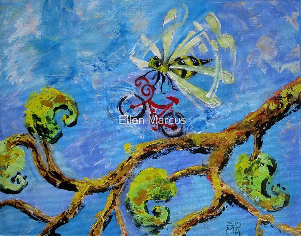 Bee With Bike by Ellen Marcus