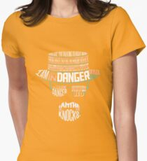 One Who Knocks Womens Fitted T-Shirt