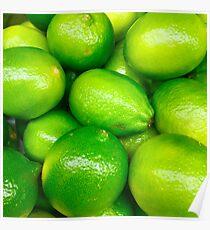 Green Fruit 4 Poster