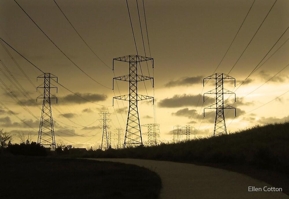 Powerful Landscape by Ellen Cotton