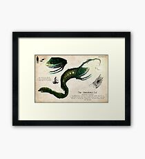 The Shrieker Framed Print