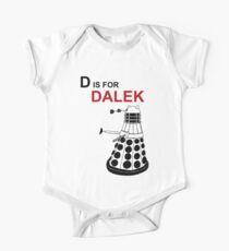 D is for DALEK One Piece - Short Sleeve