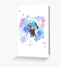 Amanda Palmer Greeting Card