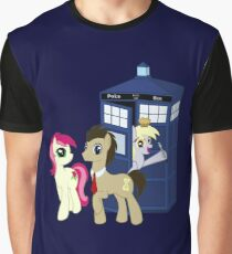 Dr. Whooves Design Graphic T-Shirt