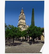 The Bell Tower & Courtyard, Cordoba Poster