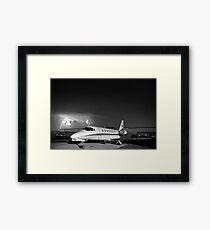 Charged Framed Print