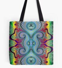 Wurburbo Fractal Design Tote Bag