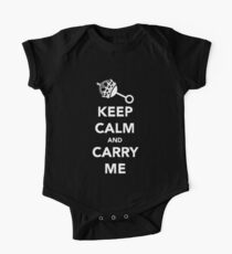 Keep Calm and Carry Me Kids Clothes